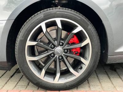Rodas do Audi com Pintura Cinza Fênix e diamantização Fosca