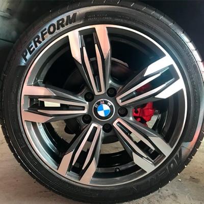 Pintura de Roda BMW Cinza Fênix com diamantização